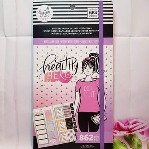 Healthy Hero Accessory Book The Happy Planner